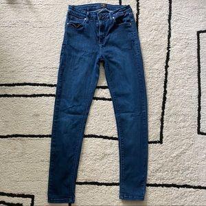 Just Black Medium Wash Skinny Jeans